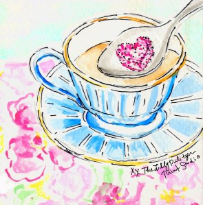 Tea as only Lilly Pulitzer can do it.  (credit: LP Art Studio)